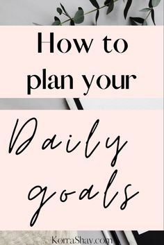 How to plan out your daily goals and what steps to take to achieve those daily goals Do You Work, What You Can Do, Types Of Goals, Goal List, Long Term Goals, Daily Goals, Going Insane, Achieve Your Goals, Do Everything