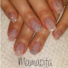 .@nailsbyeffi | #nails #naglar #nailswag #nailglitter #nailart #nagelkonst #gelnails #gelenag... | Webstagram
