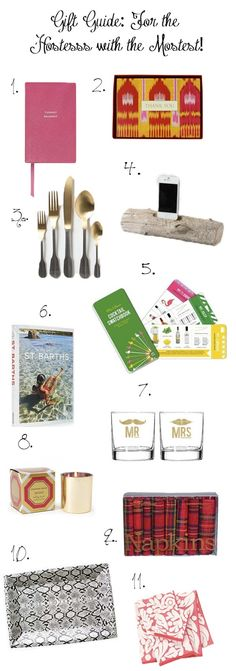 The Peak of Tres Chic: The Big Gift Guide of Chic (Under $100!)