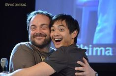 No 7 Master Chau (aka @osricchau) fanboyed @Mark_Sheppard adorably (redteekal) #Supernatural #10GreatThings pic.twitter.com/1TcQQH7Jb1 This is so adorable. And it's just here cos Osric is God's gift to our fandom and, well, I just love Mark S. No other reason needed. :)