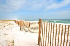 Adjacent to the Gulf of Mexico, panhandle beaches are famous for their white sands.