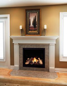 Latest Images Fireplace Hearth ideas Style Great Free of Charge gas Fireplace Hearth Tips Hottest Absolutely Free gas Fireplace Hearth Ideas Ventless Natural Gas Fireplace, Direct Vent Gas Fireplace, Vented Gas Fireplace, Home Fireplace, Gas Fireplace Logs, Fireplace Remodel, Fireplace Surrounds, Fireplace Design, Gas Fireplaces
