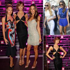 VS Angels Show Skin and Celebrate Following a Bikini-Filled Day | Alessandra Ambrosio, Candice Swanepoel, and Karlie Kloss