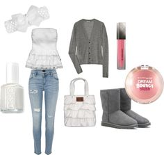 """Cute School Outfit"" by irenexu on Polyvore"