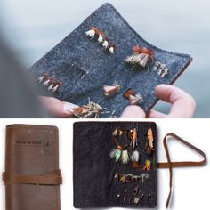 Rustico fly fishing wallet