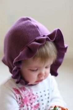 DIY Baby Bonnet : DIY Fleece Bonnet