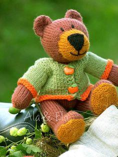 Tom Teddy Bear Pattern