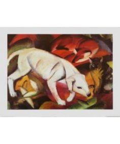 Franz Marc, Ein Hund, ein Fuchs und eine Katze