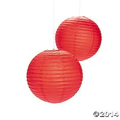 Decorate any area with these easy-to-coordinate paper lanterns. These colorful paper lanterns are perfect to hang as wedding decorations, party decor or for . Elmo Party, Bear Party, Ninja Party, Carnival Decorations, Wedding Decorations, Anniversary Decorations, Festival Decorations, Chinese Christmas, Hanging Paper Lanterns