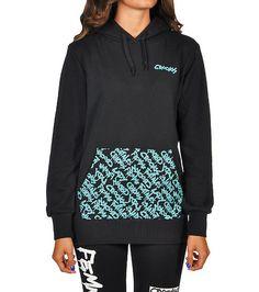 CROOKS AND CASTLES Allover Crooks fleece hoodie CROOKS AND CASTLES print on single kangaroo pocket Long sleeves Adjustable drawstring on hood Soft inner fleece for ultimate comfort