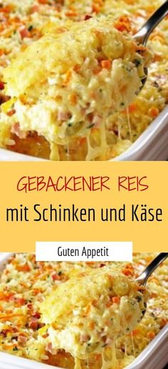 Reis Gebackener Reis Gebackener Reis The post Gebackener Reis appeared first on Essen Rezepte.Gebackener Reis Gebackener Reis The post Gebackener Reis appeared first on Essen Rezepte. Chicken Pizza Recipes, Baked Pasta Recipes, Baking Recipes, Healthy Foods To Eat, Healthy Drinks, Healthy Recipes, Smoothie Recipes, Salad Recipes, Drink Recipes