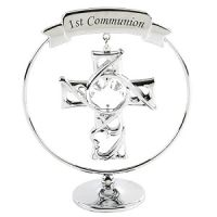 Chrome Plated Circle Ring With Cross - 1st Communion  £7.50. To order please visit http://aromaroma.co.uk/shop/article_SP251/Chrome-Plated-Circle-Ring-With-Cross---1st-Communion.html?shop_param=cid%3D190%26aid%3DSP251%26
