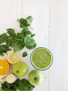 Grønn vårsmoothie