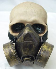 JADE GREEN Distressed -Look Steampunk Chemical Nuclear Fall Out Biological Warfare Respiratory Gas Mask -A Burning Man Must Have ($34.95) - Svpply