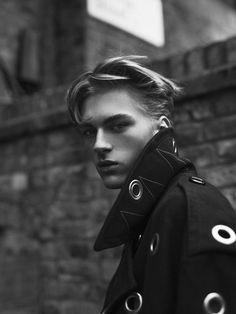 Dominik Sadoch by Zeb Daemen for Essential Homme