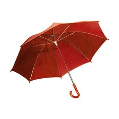 red umbrella open.png ❤ liked on Polyvore featuring umbrella and accessories