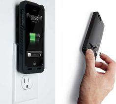 PocketPlug iPhone Case | with Integrated Wall Charger
