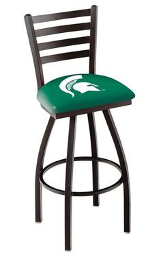 Use this Exclusive coupon code: PINFIVE to receive an additional 5% off the Michigan State University Bar Stool w/Back at SportsFansPlus.com