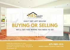 Home Ryte Solutions is a local real estate solutions company in Fairfax County, Virginia & Washington DC. We buy properties in any condition throughout Fairfax County, Virginia & Washington DC. CALL US NOW at  571-989-1313