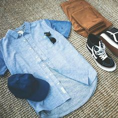 What to wear with brown pants Look Fashion, Urban Fashion, Mens Fashion, Fashion Trends, Fashion News, Cool Outfits, Casual Outfits, Men Casual, Estilo Tomboy