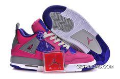 wholesale dealer 07cb6 90482 Air Jordan 4 Gs Pink Purple Grey TopDeals, Price   78.65 - Adidas Shoes,Adidas  Nmd,Superstar,Originals