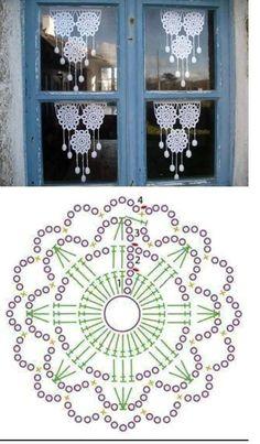 Ideas Crochet Mandala Patrones For 2020 Motif Mandala Crochet, Crochet Coaster Pattern, Crochet Snowflake Pattern, Crochet Snowflakes, Crochet Diagram, Crochet Chart, Crochet Squares, Thread Crochet, Crochet Granny