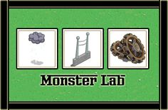 MONSTER LAB MATERIALES