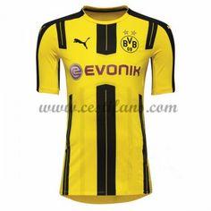 BVB Borussia Dortmund Fotbalové Dresy 2016-17 Domáci Dres