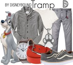 You will like anything but a Tramp in this Lady and the Tramp outfit. | Disney Fashion | Disney Fashion Outfits | Disney Outfits | Disney Outfits Ideas | Disneybound Outfits |
