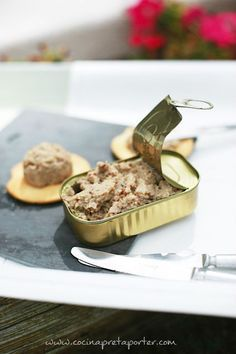 Paté de sardinas  receta