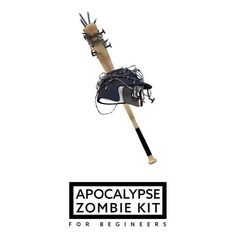 Apocalypse Zombie Kit.  #c4d #cinema4d #3D #helmet #baseball #sport #modeling #materials #material #light #set #game #realistic #zombie #apocolypse #kit #exam by andre.napo