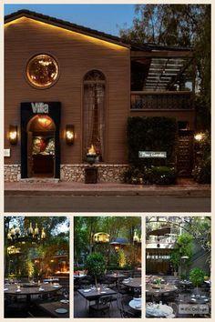 The Villa at woodland hills California, potential birthday dinner location