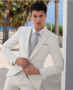 Ternos Masculino 2016 Custom Made Mens Wedding Suits Groommen Tuxedos Formal Suits Men Business Suits Jacket Pants Vest