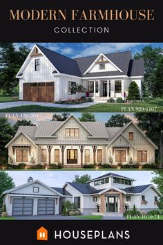 Browse our full collection here! Modern Farmhouse Plans, Farmhouse Decor, Cozy Living Rooms, Classic Style, Architecture Design, Floor Plans, Mansions, House Styles, Home Decor