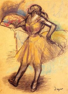 View Danseuse a léventail by Edgar Degas on artnet. Browse upcoming and past auction lots by Edgar Degas. Edgar Degas, Degas Drawings, Degas Paintings, Figure Drawings, Arctic Monkeys, Manet, Wayne Thiebaud, Oil Painting Reproductions, Impressionist