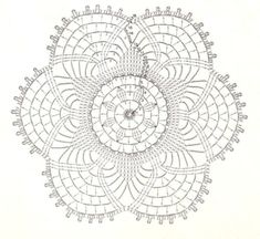 lots and lots of beautiful doilies including free diagrams (instructions)