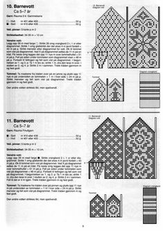 gift prresents:knitting pattern for mittens, kids craft ideas - crafts ideas - crafts for kids Knitted Mittens Pattern, Knit Mittens, Knitted Gloves, Knitting Socks, Fair Isle Chart, Fair Isle Pattern, Knitting Charts, Knitting Patterns, Norwegian Knitting