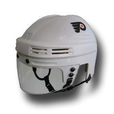 Official Licensed Mini Player Helmets - Philadelphia Flyers (White)