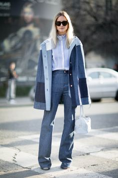 Charlotte Groeneveld after Chloe at Paris Fashion Week | THEFASHIONGUITAR