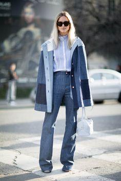 Charlotte Groeneveld after Chloe at Paris Fashion Week | THEFASHIONGUITAR