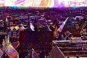 "New artwork for sale! - "" Bird S Eye View Town Hall  by PixBreak Art "" - http://ift.tt/2gS2Ngk"