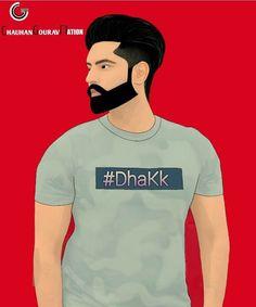 Parmish Verma Beard, Hrithik Roshan Hairstyle, Pop Art Images, Jassi Gill, Girl Couple, Drawing Artist, Eid Mubarak, Roman Reigns, Beard Styles