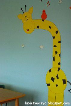 Lubię Tworzyć: Dekoracje sali plastycznej w przedszkolu