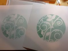 Barbara Gray's Blog. One Day at a Time.: New stencils, new ideas....