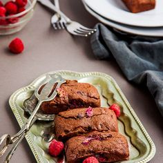 These intensely chocolatey raspberry friands are sure to brighten even the dullest day. Studded with tart raspberries with the slightest whisper of rosewater they are the ultimate treat that takes only a few minutes to whip together! Chocolate and I have long been friends. As far as I'm concerned there is no greater indulgence than...