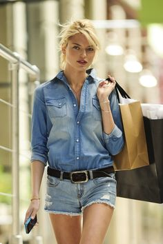 Martha Hunt during a photo shoot for VS in Brooklyn, NYC on May 1, 2013