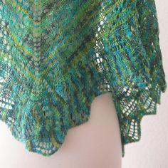 lace knitted shawl patterns free easy | Patterns Cable Knitting Patterns Fickle Knitter Noble Knits Lace Shawl ...