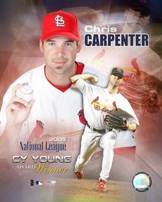 Chris Carpenter Cardinals Baseball, St Louis Cardinals, Cy Young Award, Carpenter, Baseball Cards, Sports, Hs Sports, Sport