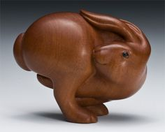 Running Rabbit Netsuke
