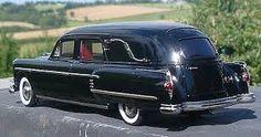 '54 Henney-Packard Landaulet Funeral Coach.
